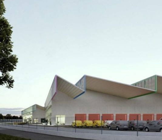 Centre de transport de marchandises