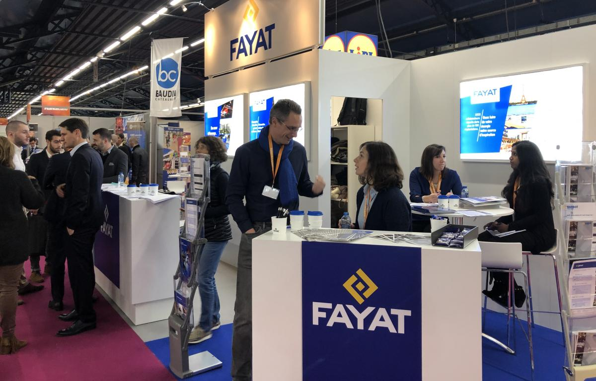 Fayat Energie Services à un forum d'affaires