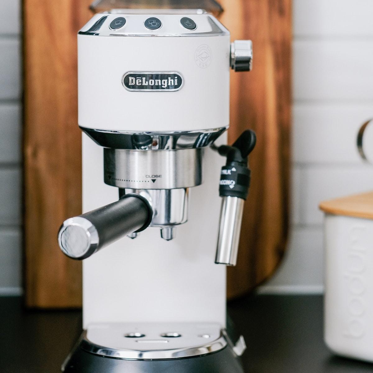 Faire le don d'une machine à café