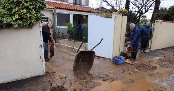 Les actions politiques contre les intempéries en France