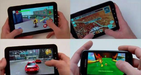 Les nouveaux jeux sur Android